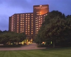 Crowne Plaza Exterior Night